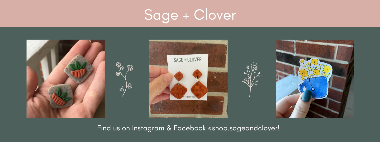 Sage  and Clover